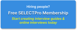 Sign up for SELECTPro membership